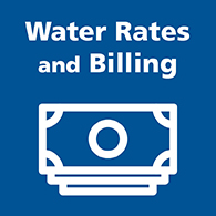Water rates and billing button image
